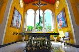 Mexico, hotel, chapel, cross, paintings, Grand Palladium Riviera