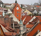 Meersburg Germany centre of the upper town