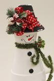 ^ Clay Pot Snowman