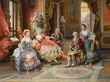 An Elegant Gathering~ Cesare Augusto Detti