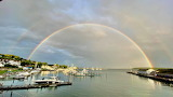 Mackinac Island Rainbow by Vanessa Methvin