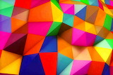 Colours-colorful-geometric-triangular shapes-Istockphoto