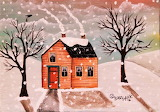 #Winter House by Karla Gerard