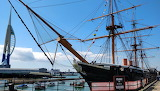 HMS Warrior, Portsmouth dockyard