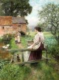 Mill Pond~ Henry John Yeend King