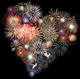 Fireworks Heart
