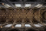 Cathedral ceiling, Chester, England