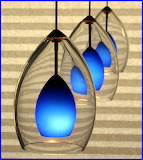 Blue Pendant Lights