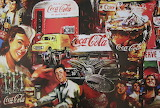 Coca-Cola Retro Collage