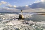 Rattray Head Light, Scotland by Ian Cowe
