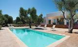 Modern luxury villa and pool in Puglia, Italy