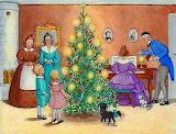 Christmas Candle Tree