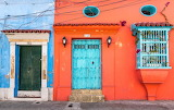 Doors and windows in Cartagena