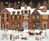 Winter Sleigh Ride - Charles Wysocki