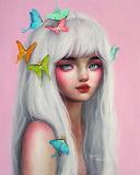 Butterfly Girl by Happy D.