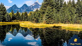 Grand Teton reflection by Lori Morrissey from auricle99 on mag
