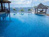 Bora Bora- Marinas infinity pool