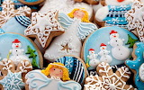 #Beautifully Decorated Christmas Cookies