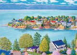 ^ View from Anderson Hill ~ Barbara Weaver-Bosson
