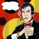 Roy Lichtenstein-Man-with-glass-68149729