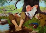 Cool Your Feet~ John Newton Howitt