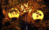 Iluminarias en otoño
