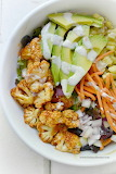 BBQ cauliflower salad