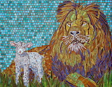 the lion and the lamb, for Kim