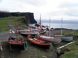 Traditional Faroese Rowing Boats
