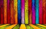 Rainbow Colorful wood background