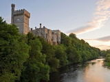 Lismore Castle at sunset - Ireland