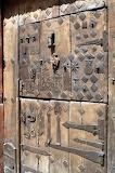 Patched And Latched Medival Door in Estella Lizarra