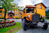 Dalen Hotel and bus in Norway