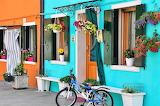 a bicycle in Burano