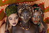 Canva - Three Women Wearing Turbands