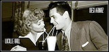 Lucy and Desi Sharing Soda