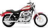 Model Harley Davidson Sportster1957