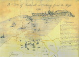 A View of Kirkwall from the West by William Aberdeen 1766