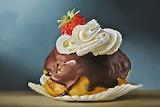 Bignè al cioccolato
