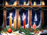 Christmas Window Candles