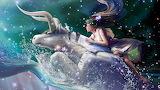 Fantasy Girl riding