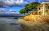 beachside house