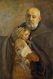 Św Brat Albert - obraz Leona Wyczółkowskiego