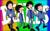 The Beatles through comics
