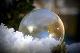 Seifenblase - Schnee