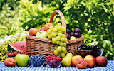 Fruits in the basket