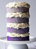 Ombre cake @ Homemade Hoopla