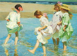 ^ Edward Henry Potthast ~ At the Beach
