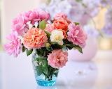 Florero con flores