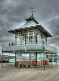 End of Clevedon Pier, Somerset